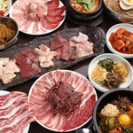 焼肉と夜景 醍醐 - 食べ放題コース