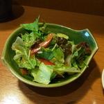 ののじ - これもお昼のサービスのサラダ