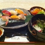 ほうせい丸 - 寿司定食