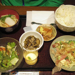 海人酒房 - 海人美食膳 1090円 2013.4