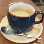 トワモワカフェ - ランチセット(200円)のコーヒー