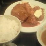 ルプラ - 一番人気のバラエティセット\500。味噌汁はカレーに変更