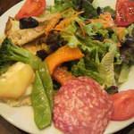 19206375 - ランチ前菜 ボリューミー