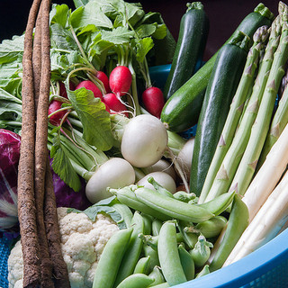北海道産の野菜にこだわる
