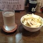 19209563 - 日本酒とキャベツの浅漬け