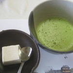 19209763 - 抹茶と長芋とほうじ茶のムース