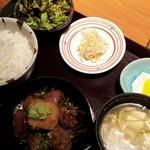 はなもんや - 牛ハラミサイコロステーキ御膳(おろしポン酢)
