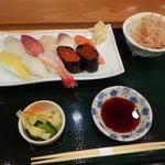 丸喜寿司 - 夕日すし膳