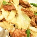 19215888 - 牛肉のオイスターソース