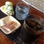 プチ - 料理写真:アイスコーヒー  400円