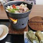 冨之里 - 太子鍋と柿の葉寿司