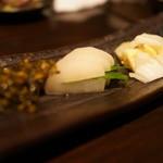 竹shi - 漬物盛り合わせ