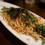 竹shi - 和風明太パスタ