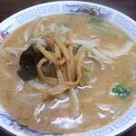 香来軒 - 味噌ラーメン(810円)