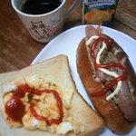 ハチイチベーカリー - 食パンとコッペパン(自宅で調味)