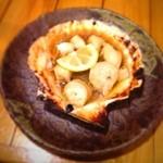 浜覚 - 帆立バター焼き