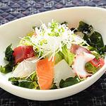 海人の家 - ヘルシー! 沖縄の海の幸の海人サラダ