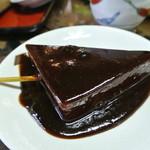 乃木そば神谷 - 手作りコンニャクの味噌おでん¥100!うま~いッ!あま~い♪