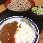 名代 富士そば - カレーも蕎麦もツユもゆで太郎のほうが好き。