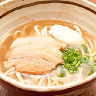 自家製麺【木灰麺】