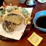 19226770 - 天せいろの天ぷら