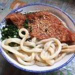 讃岐製麺所 - 太麺 うまー!