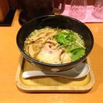 らー麺 もぐや - 塩ラーメン690円+味玉110円