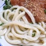 讃岐製麺所 - 太麺〜!
