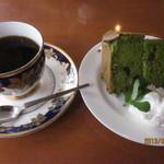 メイプルカフェ - 料理写真:シフォンケーキセット