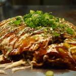 じゅげむ鉄板焼 - 鉄板で食べるとまた格別!不動の人気メニューです^^