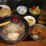 長楽 - 醤油ラーメン定食