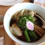 ラグタイム - 2013年5月訪問時:勝浦ワンタン麺(\800)