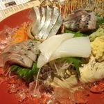 炙谷 - 刺身3種盛り