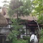19230739 - 藁葺き屋根の古民家風の店