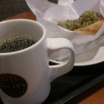 タリーズコーヒー - 本日のコーヒー&ドッグ