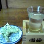 19232406 - しどけ(山菜)の天麩羅