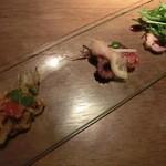 ローブ - 前菜3種盛り
