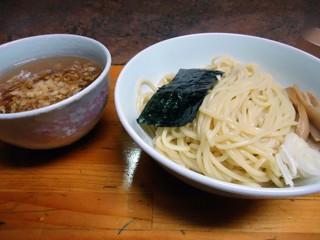 一条流がんこ十一代目 - 「あっさりなつけ麺」750円也。税込。