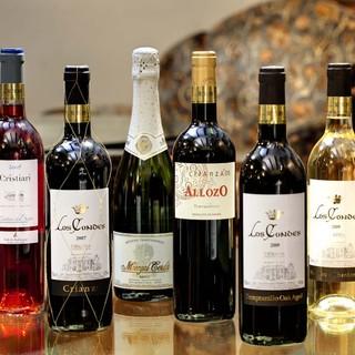 直輸入のスペインワイン