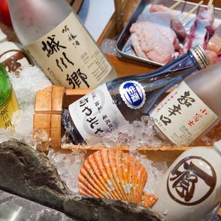 愛媛が誇る地酒を豊富に取り揃えております。