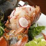 クラブハウスエニ - 料理写真:オマール海老の活々:1900円