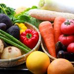 TEPPAN DINING KO-KO-RO - ≪旬の食材や有機野菜に≫毎朝入荷の新鮮な安心・安全なお野菜