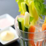 TEPPAN DINING KO-KO-RO - ≪新鮮野菜スティック≫