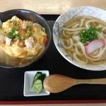 19236842 - ほの香 親子丼セット ¥700円