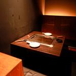 TEPPAN DINING KO-KO-RO - 小さめの個室で鉄板を囲めば、2人の距離も一気に近付いちゃうかも!