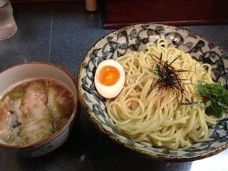 洛二神 - 魚濃つけ麺( 大盛)