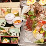 結 - 伊勢海老など豪華食材を贅沢に使った「秋味覚コース」