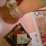 Dining 六助 - お通し枝豆豆腐?おいしかったー