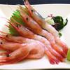 楽市 - 料理写真:甘海老刺身