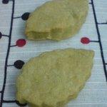お菓子のポレポレ - いぐさのクッキー 1枚20円 ほんのり緑色♪